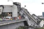 Bốn ngày sau thảm họa sập cầu ở Italia, khoảng 20 vẫn bị vùi dưới đống đổ nát