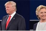 Lộ video bà Hillary Clinton tập luyện tránh cái ôm của ông Donald Trump