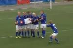 Những kiểu ăn mừng cực độc của đội bóng Iceland