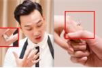Cận cảnh cặp nhẫn cưới hơn 1 tỷ đồng của MC Thành Trung và vợ mỹ nhân 9x