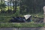 Chạy xe máy đến khúc cua, nam thanh niên đâm vào cột bê tông thiệt mạng