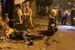 Lái xe máy đâm sập tường nhà dân, 2 nam thanh niên chết tại chỗ