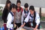 Cô giáo Hà Nội hướng dẫn học sinh làm kẹo lạc, phân bón
