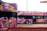 Clip: Xe buýt hai tầng chở U23 Việt Nam diễu phố đã về trụ sở VFF