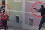 Clip: Cướp bắt cụ bà làm con tin, bị cảnh sát bắn chết tại chỗ