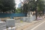 Hàng loạt sai phạm tại nhiều dự án lát đá vỉa hè ở Hà Nội