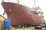 Sửa chữa tàu vỏ thép ở Bình Định: Tiếp tục thất hẹn bàn giao cho ngư dân
