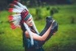 Học sinh Thái Nguyên chụp ảnh kỷ yếu phiên bản thổ dân