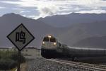 Học sinh thách đố nhau ngồi trên đường ray, tàu hỏa phải dừng khẩn cấp