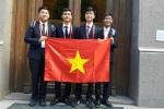 Việt Nam giành 2 huy chương Vàng Olympic Hóa học quốc tế 2016