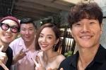 Fan ghen tị khi Tóc Tiên khoe ảnh chụp cùng bộ đôi 'Running Man' Haha và Kim Jong Kook