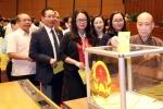 Quốc hội bỏ phiếu kín bầu Chủ tịch nước