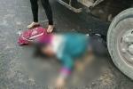Đi vào đường cấm, tài xế xe tải tông trúng nữ sinh rồi bỏ trốn