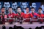 Quế Ngọc Hải và tuyển thủ Việt Nam nhận giải Fair-play 2018