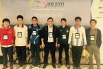 Đoàn học sinh Việt Nam xếp thứ 3 kỳ thi Olympic Toán quốc tế 2017