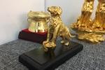 Đại gia Việt chơi ngông, chi cả trăm triệu đồng mua linh khuyển mạ vàng cầu may