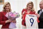 Tiếp đón Tổng thống Croatia tại Matxcơva, ông Putin nhận được món quà đặc biệt