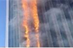 Kinh hoàng cảnh tượng tòa nhà chọc trời rừng rực cháy ở Trung Quốc