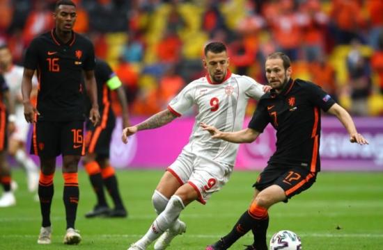 Trực tiếp bóng đá Bắc Macedonia vs Hà Lan EURO 2020