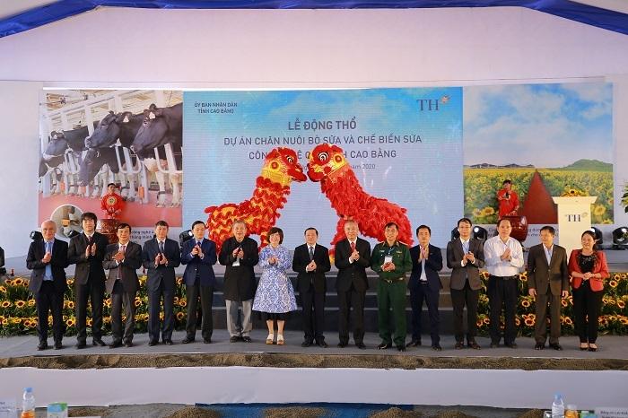 Động thổ dự án chăn nuôi bò sữa và chế biến sữa công nghệ cao tại Cao Bằng - 5