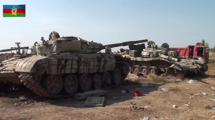Vì sao chiến thuật xe tăng thất bại trong xung đột Azerbaijan-Armenia? - 4