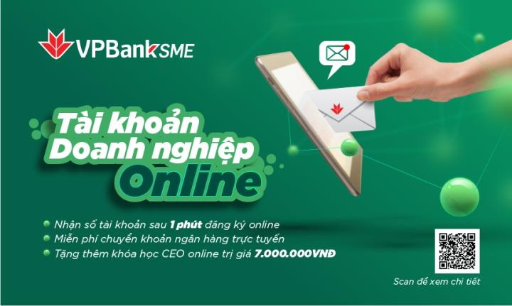 Mở tài khoản SME online chỉ trong 1 phút tại VPBank - 1