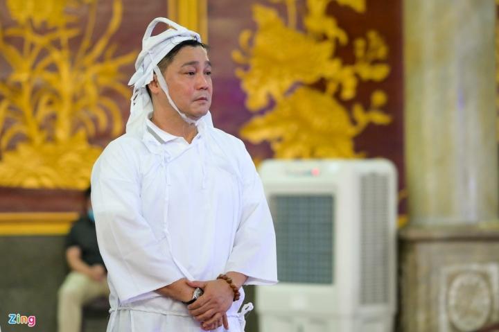 Giáng My, Ngọc Trinh khóc trong tang lễ NSND Lý Huỳnh - 2