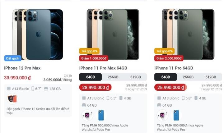 iPhone 12 mở bán, iPhone cũ lập tức giảm giá siêu mạnh - 1