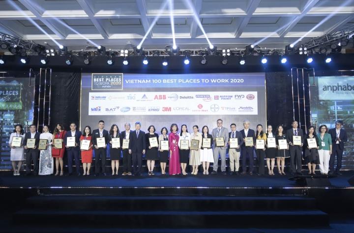 TPBank lọt Top 5 ngân hàng có nơi làm việc tốt nhất Việt Nam - 1