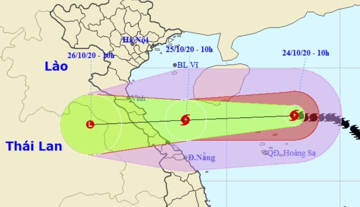 Diễn biến mới nhất của bão số 8: Chỉ cách Hoàng Sa khoảng 140 km - 1
