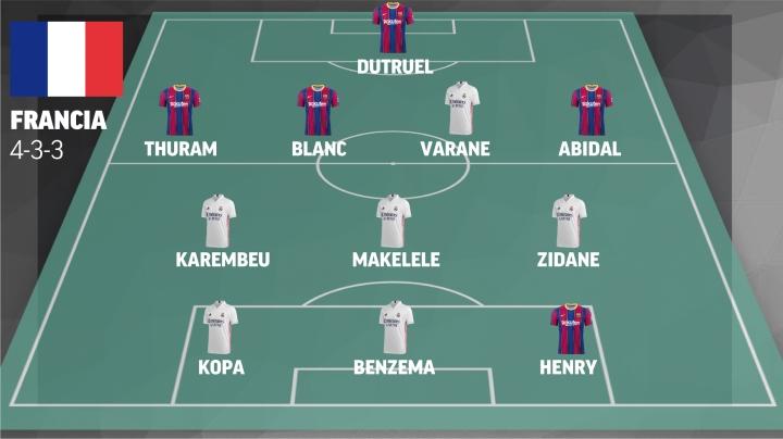 Những đội tuyển trong mơ từ siêu kinh điển Real Madrid vs Barcelona - 4