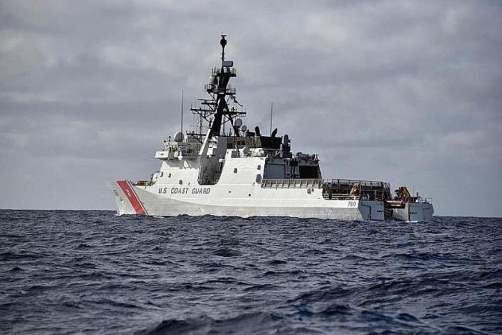 Mỹ triển khai tàu tuần duyên ở Thái Bình Dương để đáp trả Trung Quốc - 1