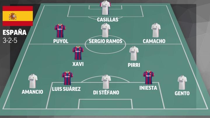 Những đội tuyển trong mơ từ siêu kinh điển Real Madrid vs Barcelona - 1