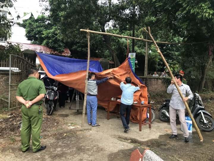 Thông xe vào khu xử lý rác thải Nam Sơn - 2