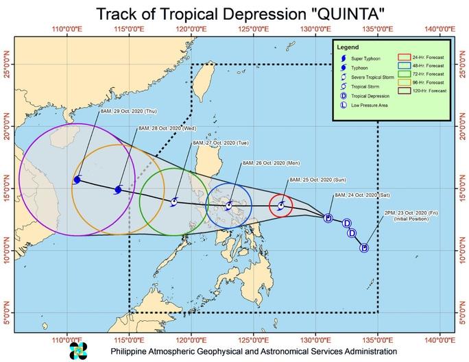 Siêu bão Molave càn quét Philippines, chuẩn bị tiến vào Việt Nam - 2