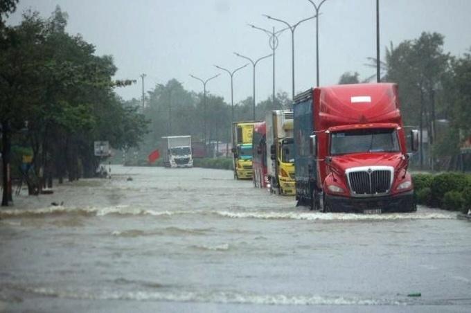 Không tổ chức kinh doanh vận tải trong khu vực bão số 9 đổ bộ - 1
