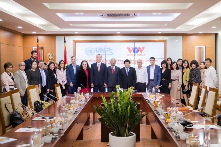 VOV hỗ trợ các cơ quan Liên hợp quốc hoạt động hiệu quả hơn tại Việt Nam - 8