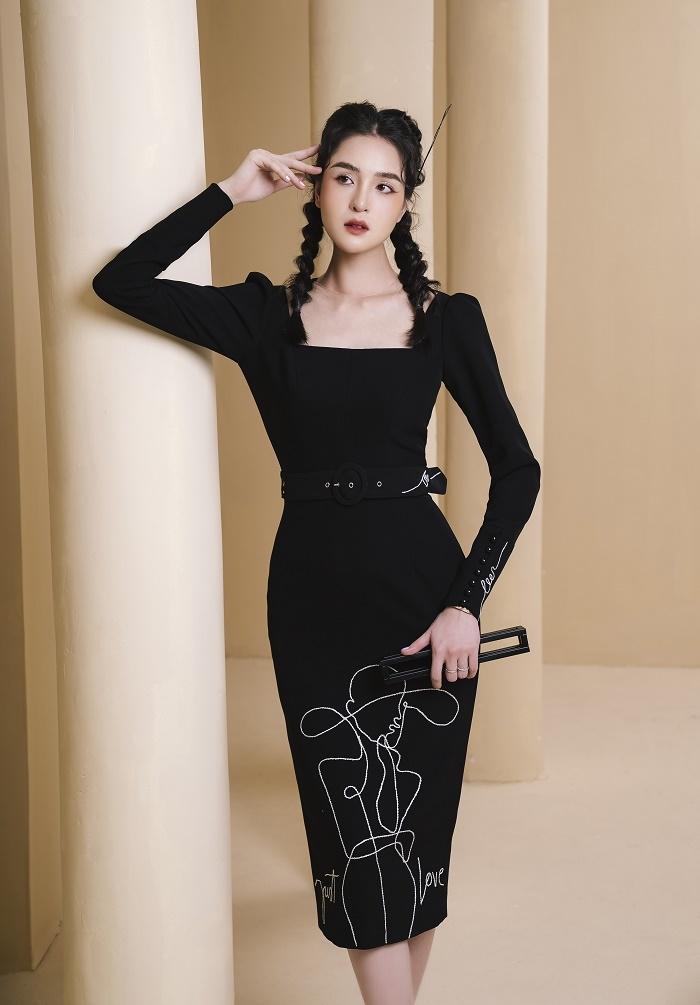 Á hậu Hoàng Anh gợi ý mặc đẹp cả tuần cho giới doanh nhân và văn phòng - 4