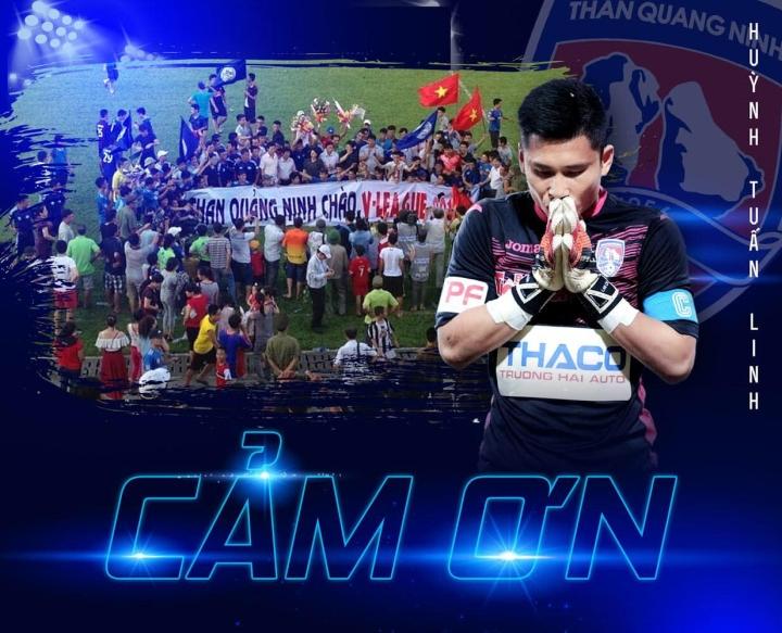 Cựu thủ môn tuyển Việt Nam chia tay Than Quảng Ninh - 1