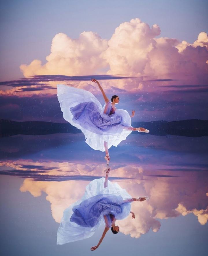 Ảnh: Đẹp sững sờ nhan sắc vũ nữ hòa vào thiên nhiên kỳ ảo - 3
