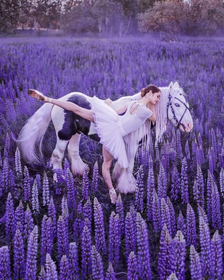 Ảnh: Đẹp sững sờ nhan sắc vũ nữ hòa vào thiên nhiên kỳ ảo - 7