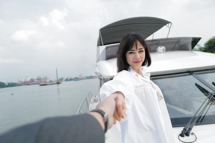 MC VTV hơn 6 tuổi công khai tình cảm với diễn viên Huỳnh Anh - 5