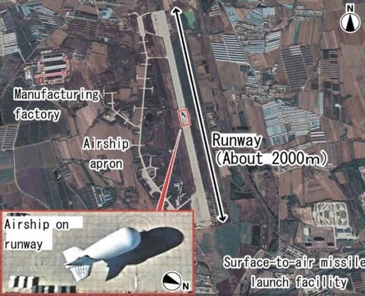Chuyên gia Nhật: Trung Quốc dùng khinh khí cầu giám sát Biển Đông - 1