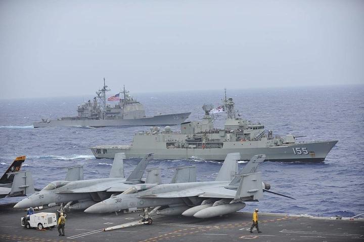Giữa căng thẳng, Trung Quốc gửi cảnh báo đáng ngại về Biển Đông với Australia - 1