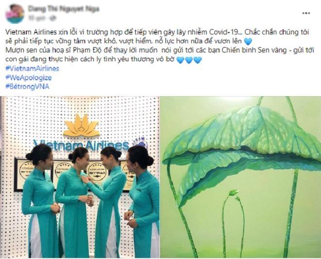 Nhân viên Vietnam Airlines đồng loạt treo hashtag xin lỗi cộng đồng - 1