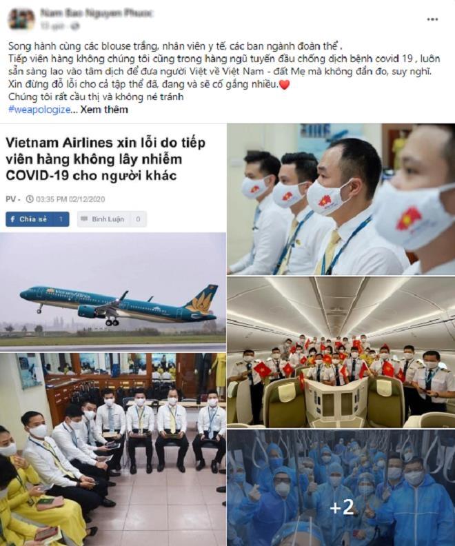 Nhân viên Vietnam Airlines đồng loạt treo hashtag xin lỗi cộng đồng - 4