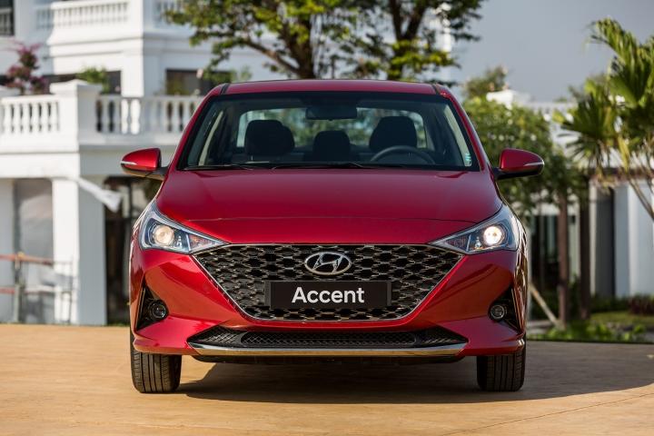 Cận cảnh Hyundai Accent 2021, giá từ 426 triệu đồng