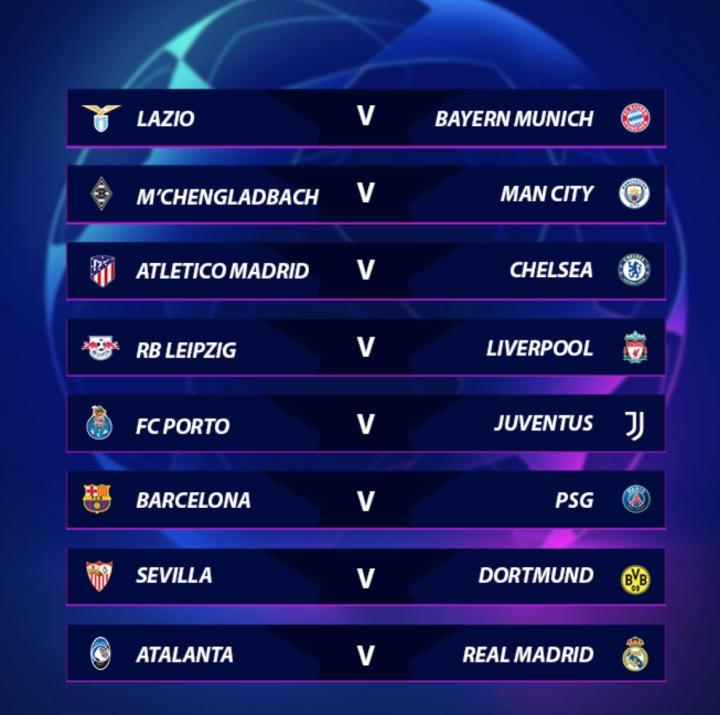 Kết quả bốc thăm vòng 1/8 Champions League: Chelsea vs Atletico, Barca vs PSG - 2