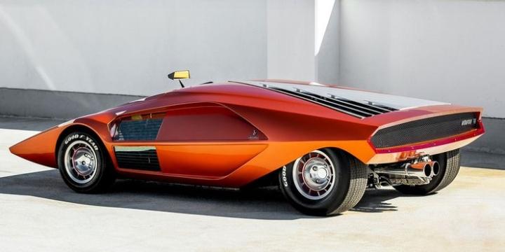 10 thiết kế ô tô độc đáo nhất của nhà thiết kế lừng danh Marcello Gandini  - 4