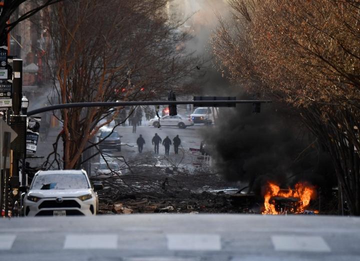 Cảnh sát Mỹ: Vụ nổ rung chuyển thành phố Nashville là hành động cố ý - 1